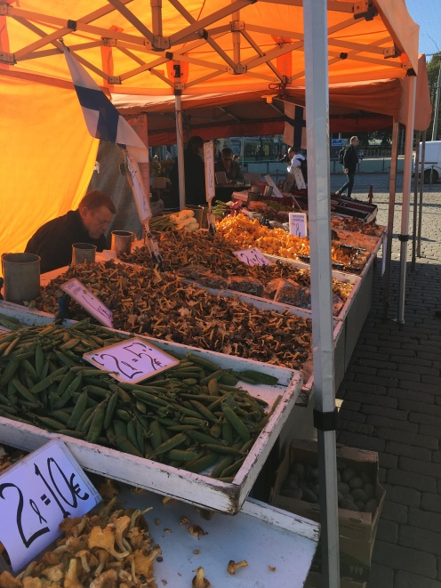 Amazing market stalls!